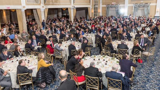 More than 500 people are expected to attend the 2017 Somerset County Business Partnership Annual Meeting and Economic Vitality Awards at the Palace at Somerset Park on Monday, Dec.11.