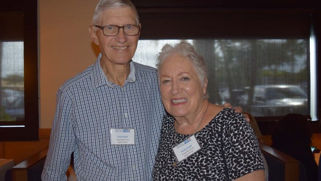 Legacy Tocqueville donors Fred and Betty Kopf enjoyed the luncheon.