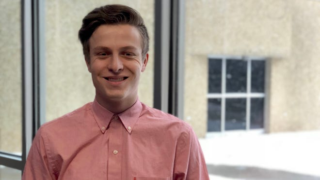 Tanner Champine accepted a job offer as a software developer for Sentry Insurance before his December 2017 graduation from Northcentral Technical College.
