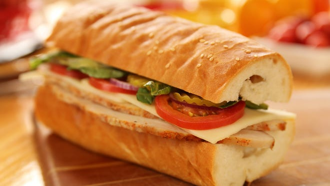 The hot Rotisserie Turkey sub is one of the constant favorites at The Picnic Basket.