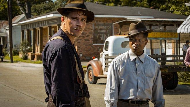 """Garrett Hedlund and Jason Mitchell are part of the ensemble cast in """"Mudbound."""""""