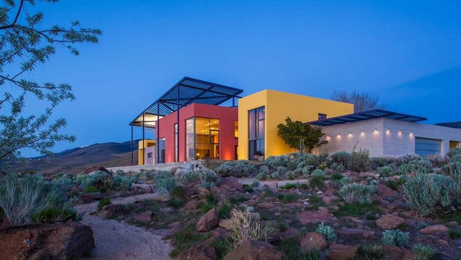 Gallery owners Turkey and Peter Stremmel sold their architecturally distinctive home in the West Reno foothills for $3.25 million in 2017. The home ranked No. 2 on the list of the city's most expensive home sales for the year.