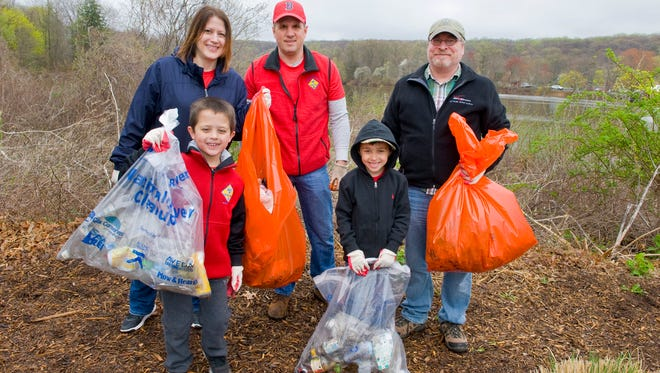 Like in 2017 at the Raritan Headwaters Association annual Earth Day Cleanup, volunteers will take to the streams for a cleanup event on April 14.