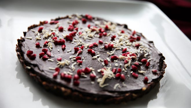 You don't need your oven for this raw vegan Passover tart.