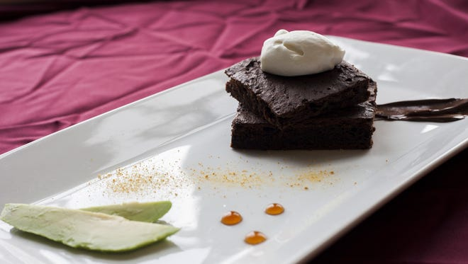 An avocado brownie packs a nutritional punch but is also a tasty treat.