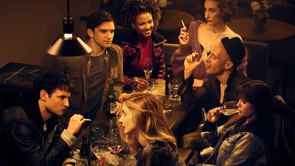 """Sweetbitter"" stars Tom Sturridge (Jake), Evan Jonigkeit"