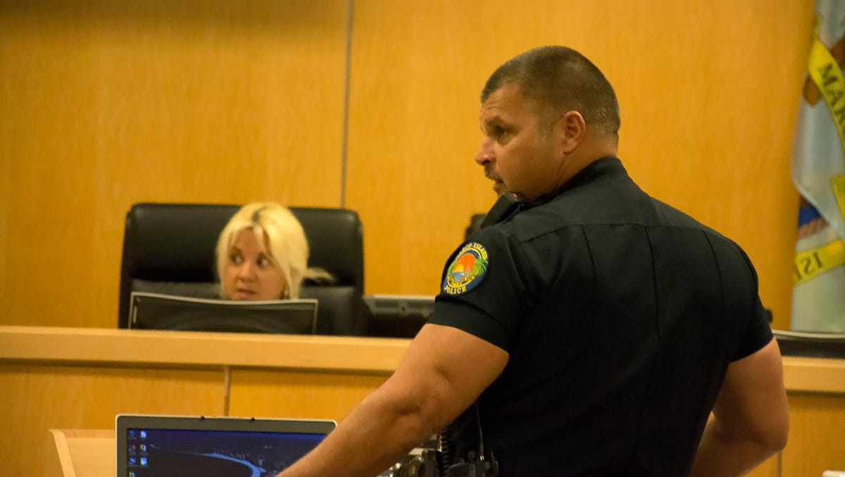 Fired Marco police officer faced accusations of having sex