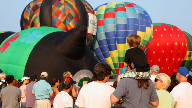 The USA Today Network has selected the balloon festival as the premier family entertainment attraction in the state for 2018.