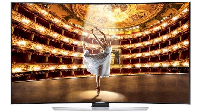 Samsung's 78-inch Ultra HD TV.