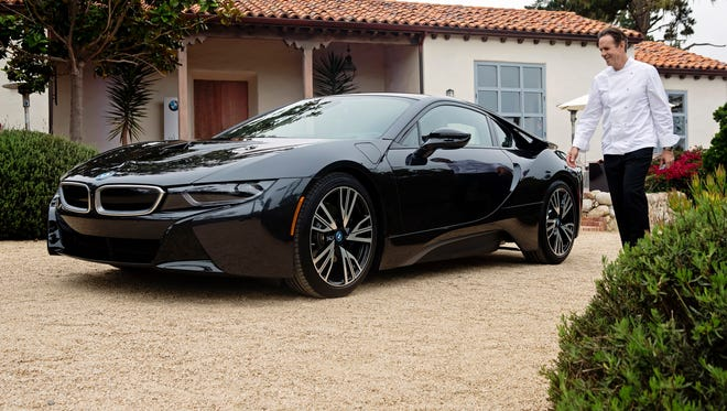A'l-new BMW i8, a revolutionary plug-in hybrid sports vehicle