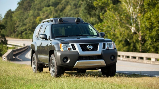 """The adventure-ready 2015 Nissan Xterra combines power, utility, value and authenticity – inspiring and facilitating outdoor enthusiasts to """"attack life"""" wherever they go. Xterra is available in three well-equipped models – X, S and PRO-4X (4x4 only) – making it easy for buyers to select the exact Xterra model for their particular needs and lifestyles."""