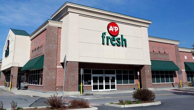 A&P Supermarket in Mount Kisco, Oct. 8, 2015.