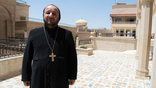 Yousif Ibrahim, the head monk at Saint Matthew's Monastery, laments the ever present struggle the Christian community faces in Iraq.
