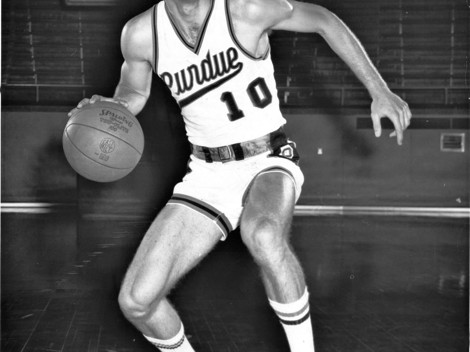 - Rick Mount in his Purdue playing days. HANDOUT PHOTO
