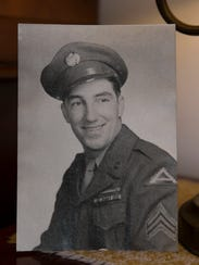 Weber in a photo taken in 1943. Herb Weber of Lakewood