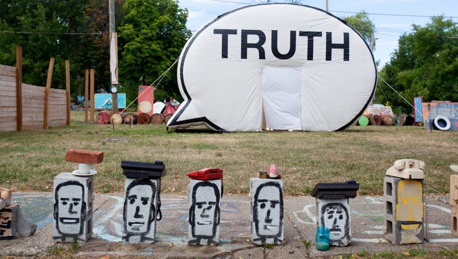 The Truth Booth visited the Heidelberg Project in Detroit.