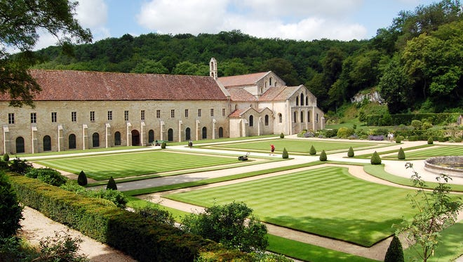 The abbey structures at Fontenay have remained virtually untouched by the outer world.