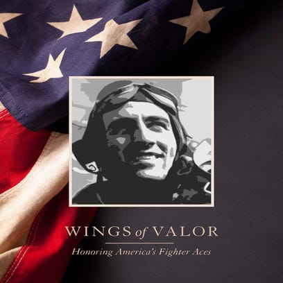 "Ret. Air Force Lt. Gen. Charles G. ""Chick"" Cleveland fought during the Korean War with five kills to his credit. Cleveland currently serves as the president of the American Fighter Aces Association. A Kickstarter campaign to help fund the ""Wings of Valor"" project ends May 3, with a goal of raising $65,000 to cover the book's production costs."