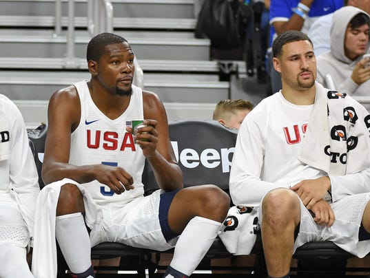 Kevin Durant Klay Thompson
