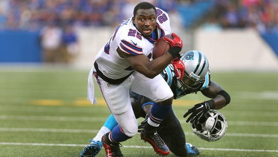Buffalo Bills running back LeSean McCoy says he'll