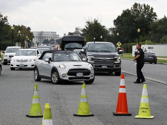 Arlington National Cemetery Bomb Threat