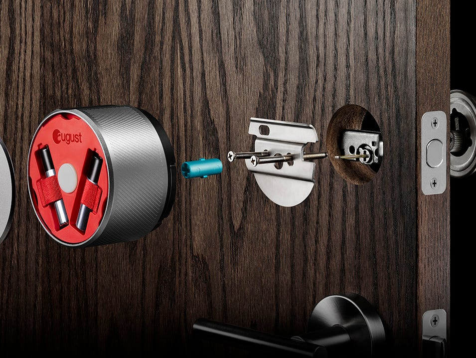 The August Smart Lock system.