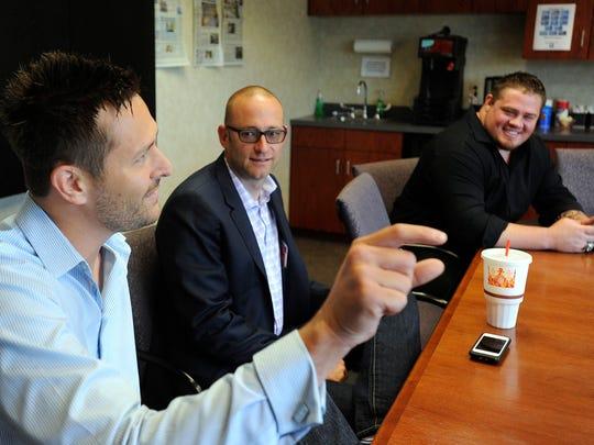 Eric Hagen, CEO, Monarch America; Jonathan Hunt, vice