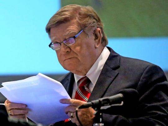 Arizona Board of Regents chairman Bill Ridenour.