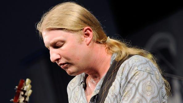 Derek Trucks, one of the finest rock guitarists in