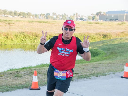 Bob Rall is the vice president of Space Coast Runners