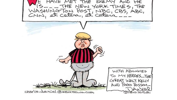 Charlie Daniel cartoon: Feb. 21, 2017