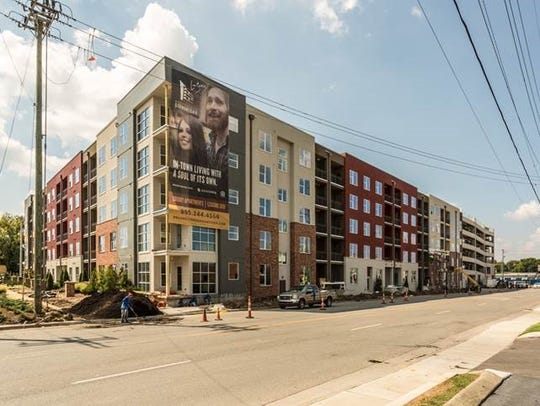 The 276-unit, just over a year-old Broadstone Germantown