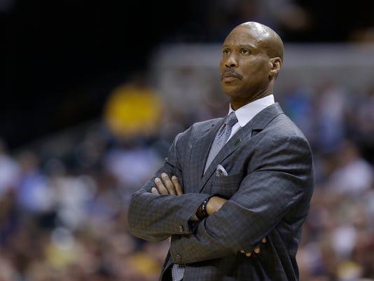Lakers Scott Basketball
