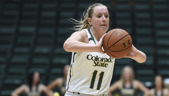 Former CSU star Gritt Ryder is now a graduate assistant for the Rams as they head to the NCAA tournament this week.