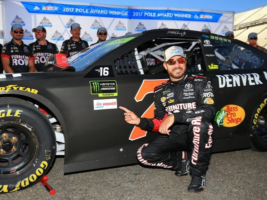Monster Energy NASCAR Cup Series Apache Warrior 400 presented by Lucas Oil - Qualifying
