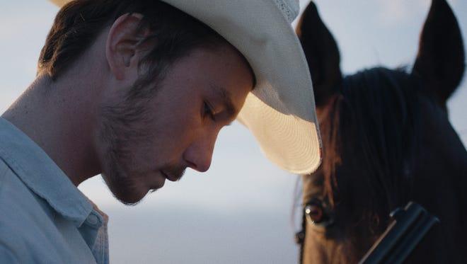 """Brady Jandreau as Brady Blackburn in """"The Rider."""""""