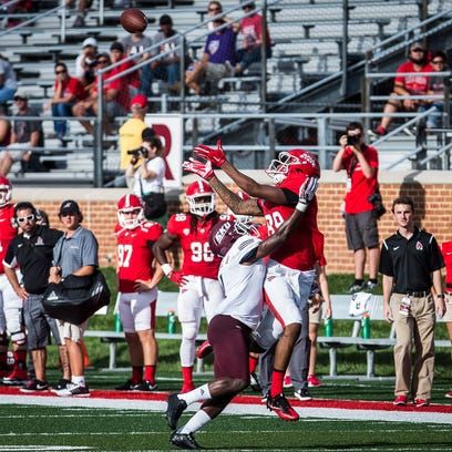 Ball State defeated Easter Kentucky 41-14 in their