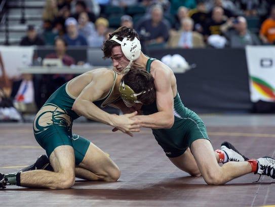 East Brunswick's Mitchell Polito defeats Seneca's Joe