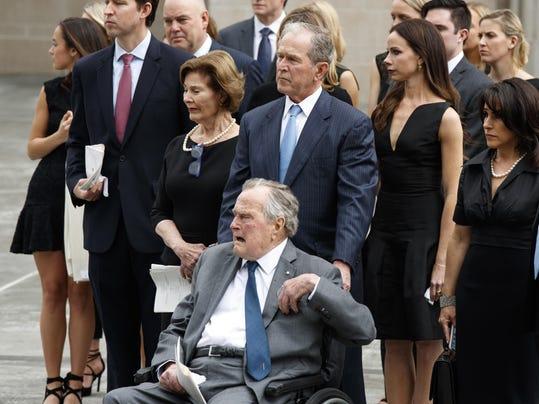George W. Bush,George H.W. Bush
