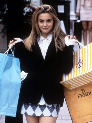 "Alicia Silverstone as Cher in ""Clueless."""