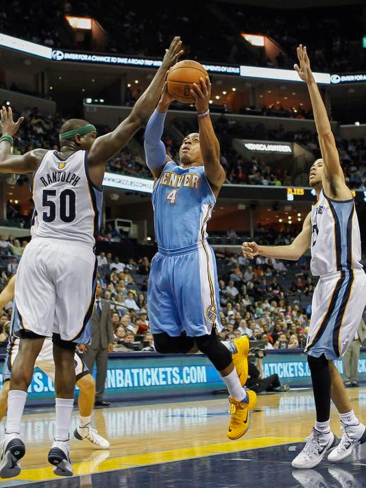 Nuggets Grizzlies Basketball (2)