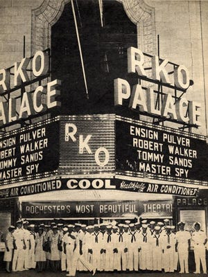 The exterior of the RKO Palace is seen in this undated file photo.