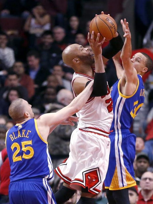 Warriors Bulls Basketball (2)