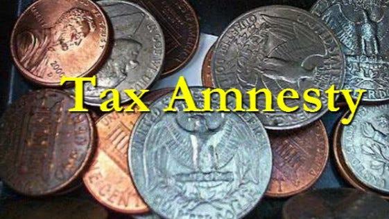 Louisiana's Tax Amnesty program will begin Oct. 15 and run through Nov. 14.