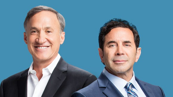 Drs. Terry Dubrow (left) and Paul Nassif.