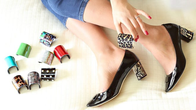 ShoeCandy by Kara Mac, a customizable shoe brand for women on the go.