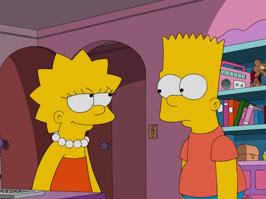 """The Simpsons"" writers, a predominantly male group, are more like brainy Lisa Simpson than rebellious brother Bart."