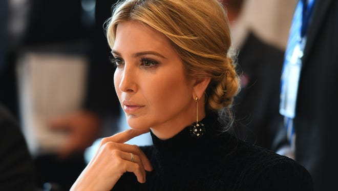Ivanka Trump and IBM CEO Ginni Rometty spoke witha handful of studentsat Norwalk Early College Academy at Norwalk High School on Monday. Parents were not pleased with her visit.