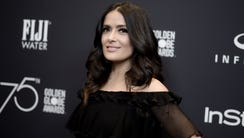 Salma Hayek attends the HFPA and InStyle Celebrate