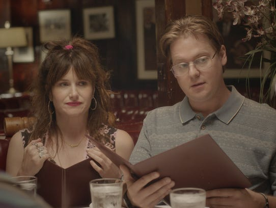 """Kathryn Hahn and Tim Heidecker star in """"Flower."""""""